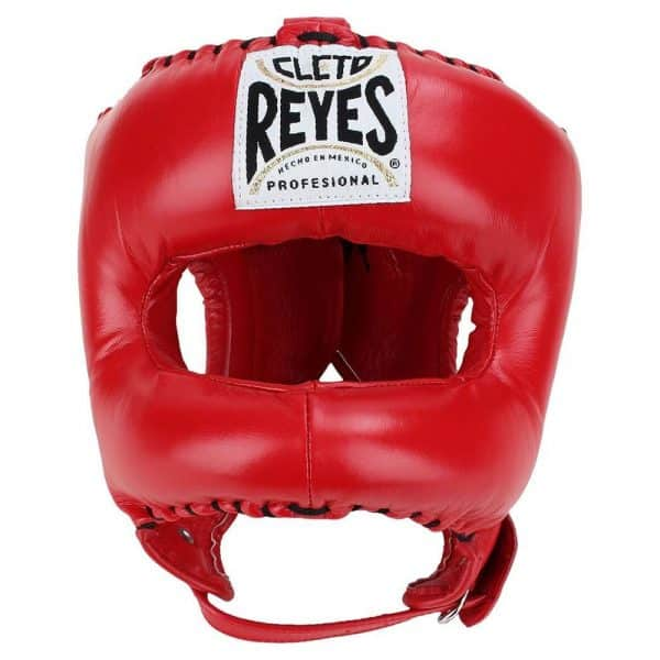 cleto-reyes-traditional-headgear-with-nylon-face-bar-red-front.jpg