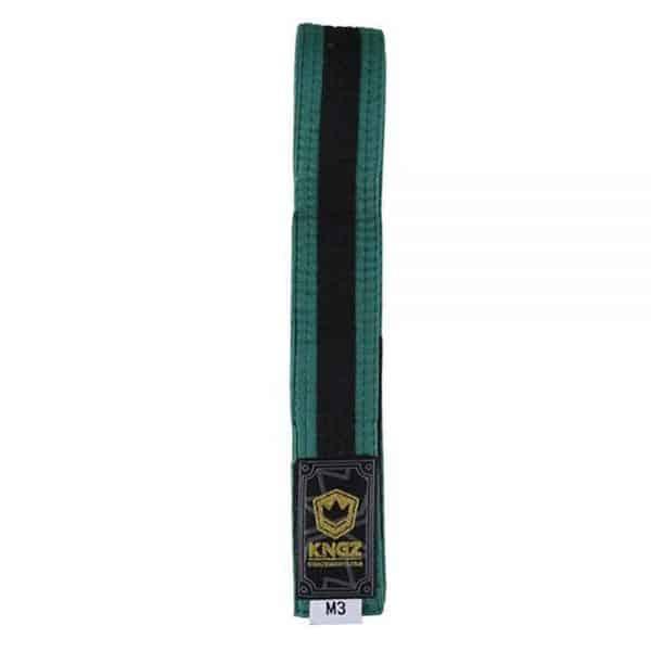 kingz-kids-belts-with-black-stripe-green.jpg