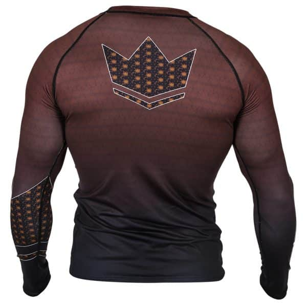 kingz-ranked-crown-3-0-long-sleeve-rashguard-brown-back.jpg