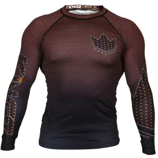 kingz-ranked-crown-3-0-long-sleeve-rashguard-brown-front.jpg